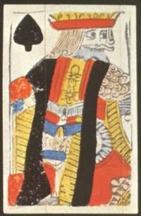Rei de Espadas, 1675