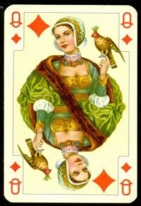 Dama de Ouros, baralho de luxo