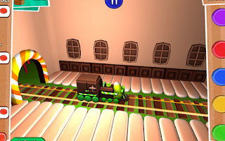 Screenshot of Candy World Train Adventure 3D
