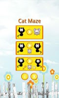 Screenshot of Cat Maze Race