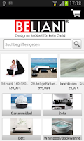 Screenshot of Beliani.at