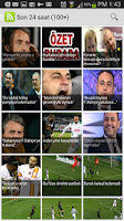 Screenshot of Galatasaray Latest News