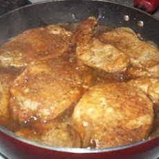 Savory Glazed Pork Chops