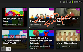Screenshot of Children Songs