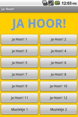 Ja Hoor