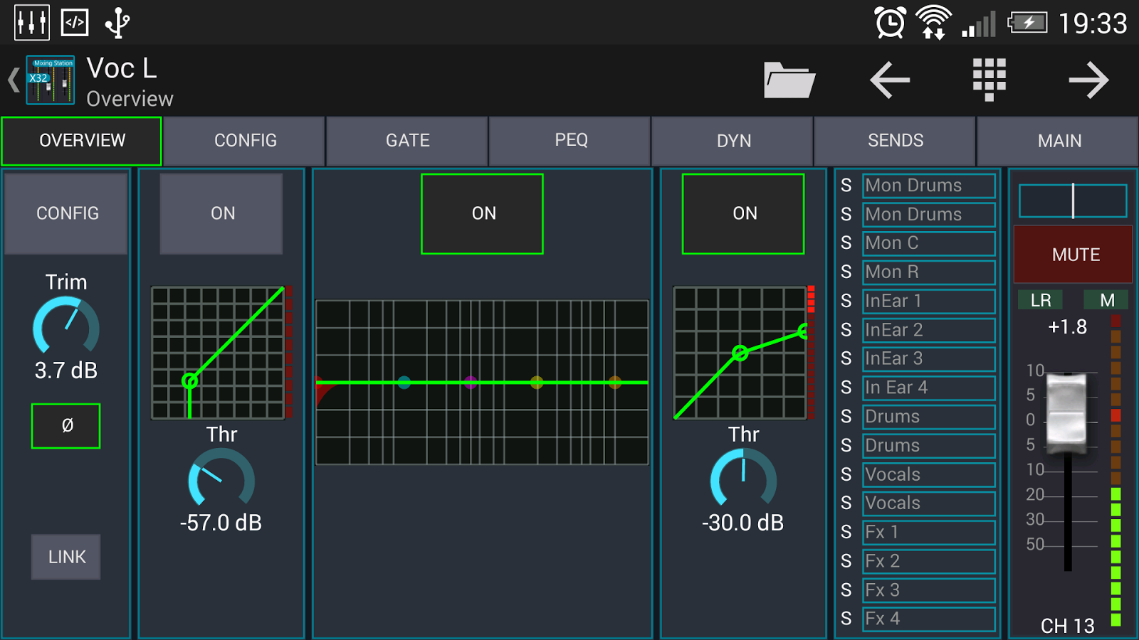 Mixing Station XM32 Pro Screenshot 2