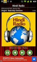 Screenshot of Hindi Radio