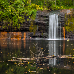 Wolfe Creek Falls by Andy Chow - Landscapes Waterscapes ( banning, waterfall, wolfe creek )