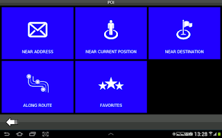 Screenshot of Desnav GPS Navigation (Navteq)