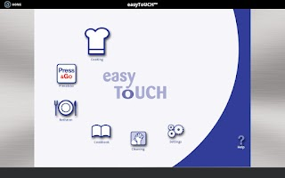 Screenshot of Manitowoc Convotherm easyToUCH