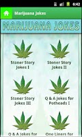 Screenshot of Marijuana Jokes