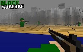 Screenshot of Block Warfare