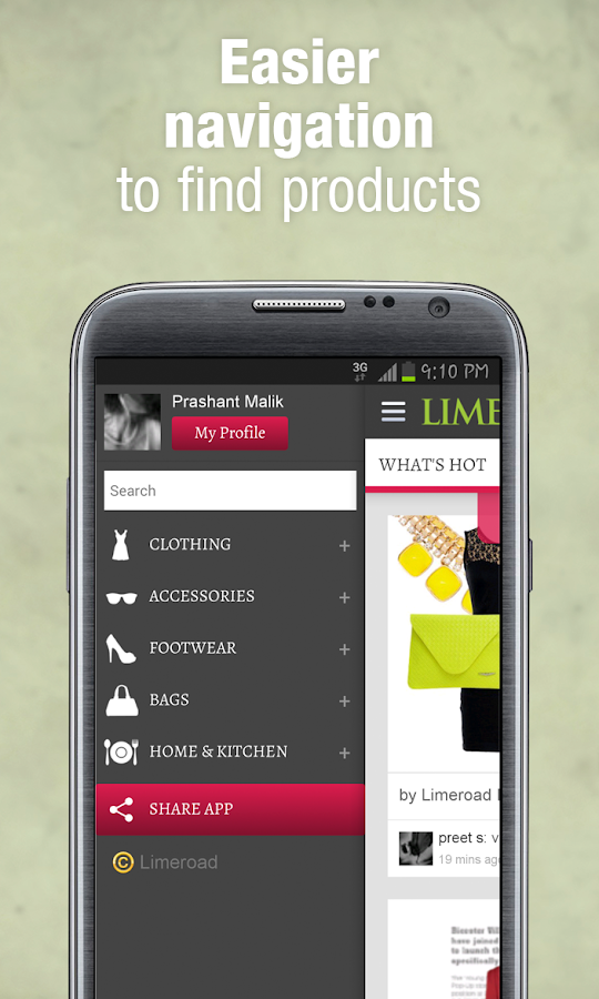LimeRoad - Online Shopping Screenshot 4