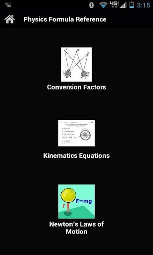 Physics Formula Reference
