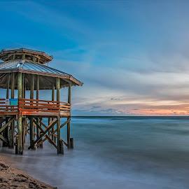 Bathtub Beach by KC Chehab - Landscapes Beaches ( sunshine state, stuart, united state, florids, sunrise, beach, bathtub beach,  )