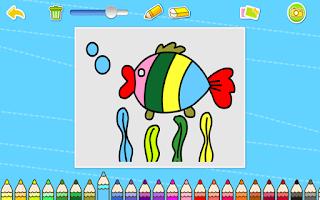 Screenshot of 귀염이 페인팅-유아교육BabyBus