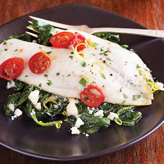 Fish Florentine Fresh Spinach Recipes