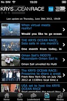 Screenshot of KRYS OCEAN RACE