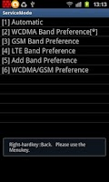 Screenshot of ShowServiceMode For Galaxy LTE