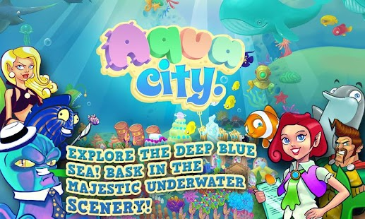 Screenshots  Aqua City: Empire des Poissons