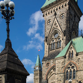 Parliament Hill in Canada by Roberta Janik - Buildings & Architecture Public & Historical