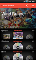 Screenshot of Wind Runner pack for dodol pop
