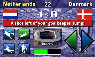 Screenshot of EURO 2012 Football/Soccer Game