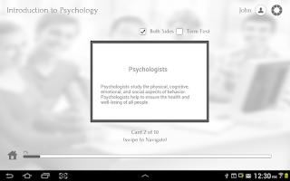 Screenshot of Psychology 101