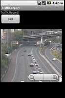 Screenshot of Traffic cam