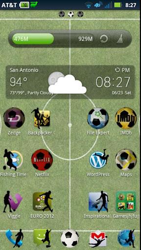 Football Soccer Theme