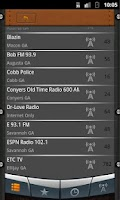 Screenshot of Georgia Radio