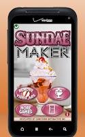 Screenshot of Sundae Maker