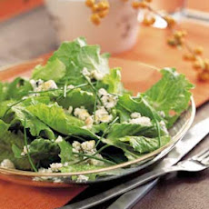 Romaine Salad with Chives and Blue Cheese