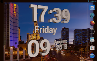 Screenshot of Best 3D Clock