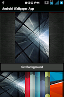 Screenshot of stock android L htc wallpapers