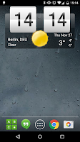 Screenshot of Sense Flip Clock & Weather