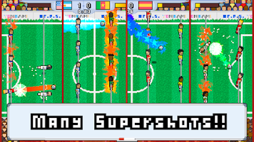 Screenshot of World Pixel Cup LITE