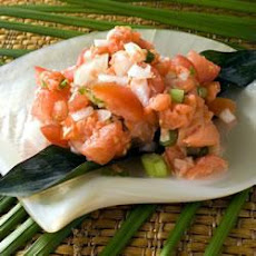 Hawaiian-Style Smoked Salmon Salad
