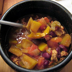 Chocolate Chili with Apples