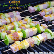 Grilled Ham and Pineapple Kabobs