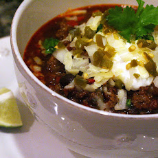Spicy Beef and Buffalo Chili