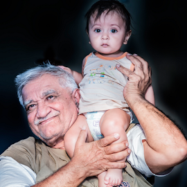 Great grandfather & Great grandson by Digital Kreativ  Foto - People Family ( people, #family, photography, portrait, human,  )