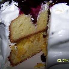 Sour Cream Yellow Cake