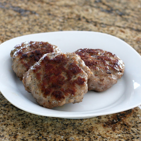 Homemade Pork Breakfast Sausage