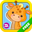 Toddler & Baby Animated Puzzle icon