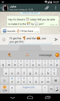 Screenshot of Wink It Emoji Keyboard Beta