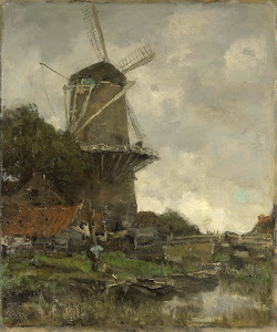 RIJKS: Jacob Maris: painting 1886