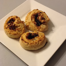 Prune & Parmesan Rolled Scones