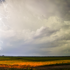 Shock by Brian Box - Landscapes Weather ( lightning, arkansas photographer, thunderstorm, weather, storms )