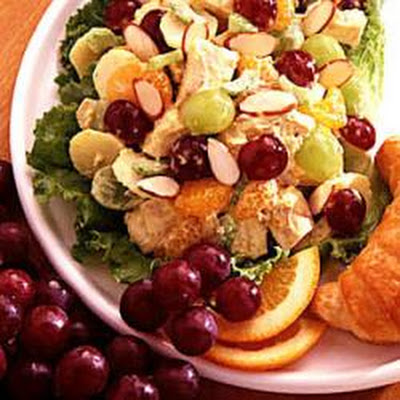 Curried Chicken Fruit Salad